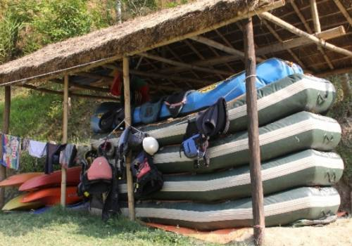 Bhotekosi river rafting fun with Camp Exhibition Tour