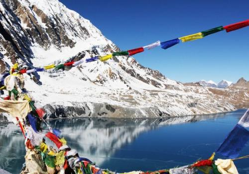 Tilicho Lake 4920m The world's highest lake trekking